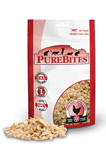 PureBites Freeze-Dried Cat Treats with Chicken Breast 1.09 oz