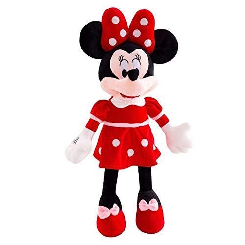 FENGK Juguete Suave Mickey Mouse Minnie Peluche Juguetes Animales Lindo Dibujos Animados Muñeca Relleno Niños Regalos de cumpleaños