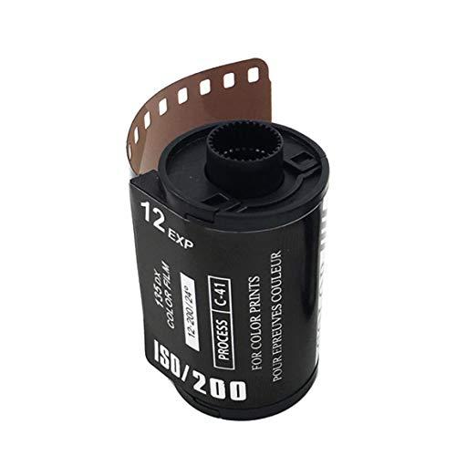 8 EXP ISO 200 Película Colorida para cámara Película Retro en Forma de corazón 135 Película Negativa para cámara Impermeable de 35 mm