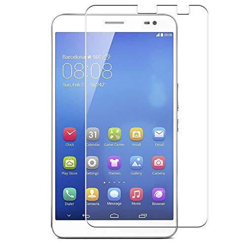 Vaxson 4 Stück Schutzfolie, kompatibel mit Huawei MediaPad x1 / Honor x1 7d-501u 7d-503, Displayschutzfolie TPU Folie [nicht Panzerglas]