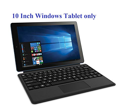 """RCA 10 & 12.2 inch Cambio Windows 10 Tablet with Keyboard (10.1"""", Blue)"""