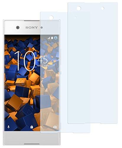 mumbi Schutzfolie kompatibel mit Sony Xperia XA1 Folie klar, Bildschirmschutzfolie (2x)