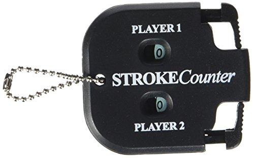 Longridge Golf Zubehör 2 Spieler Schlagzähler, Schwarz