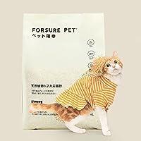ペット確幸 猫砂 おから トフカスサンド トイレに流せる 飛び散らない 消臭・抗菌 4L約1.6kg(オリジナル1)