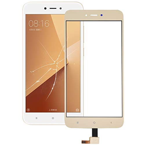 Xiaomi Spare Touch Panel for Xiaomi redmi Nota 5A Xiaomi Spare (Colore : Gold)