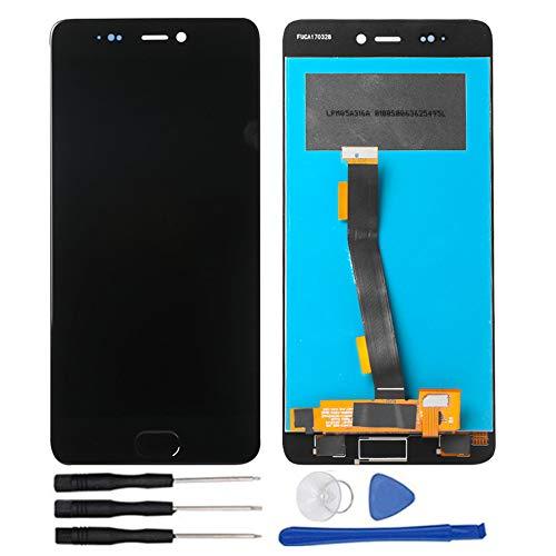 soliocial Asamblea Pantalla LCD Pantalla Táctil Vidrio para Xiaomi Mi 5s Mi5s Without Fingerprint Negro
