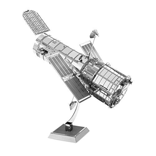 Metal Earth Fascinations MMS093502513, Hubble Telescope, Construction Toy1Board, Ages 14+