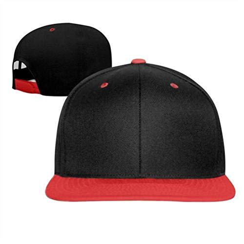 MJ77 HGD544 F-ortnite Adjustable Hats Hip Hop Baseball Caps for Boys Girls Red