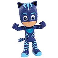 Night-time is the right time to fight crime with the PJ Masks Deluxe Talking Figures! These articulated 15cm deluxe figures are poseable so you can move them into dynamic action poses for endless hero play! Each character says fun phrases from the sh...