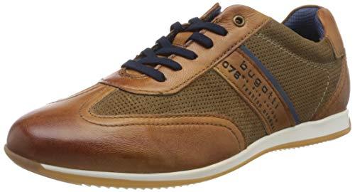 bugatti Herren 311450104114 Sneaker, Braun, 42 EU