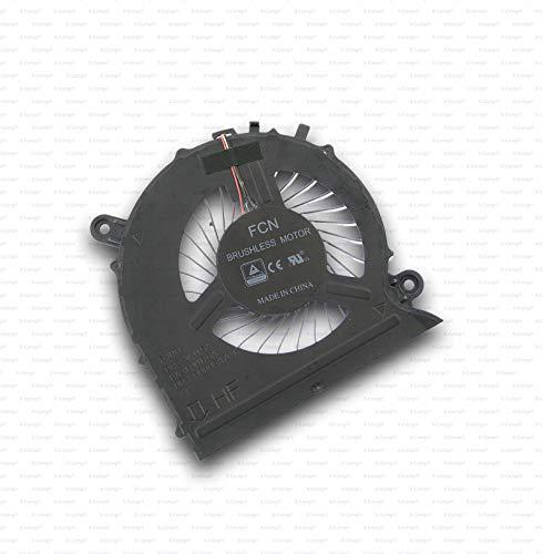 X-Comp Ventilador de CPU para Samsung NP800G5M NP-800G5M Serie BA31-001756