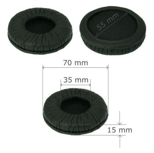 1 Paar Kopfhörer Ersatz Ohrpolster, SunshineTronic Ohrpolster 70mm(für Kopfhörerdurchmesser zwischen ca. 65mm-73mm)