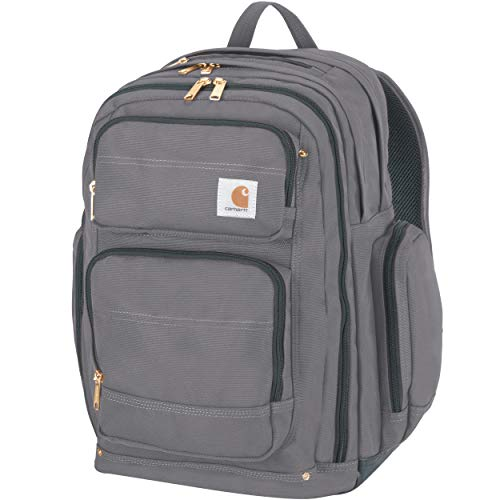 Carhartt Legacy Deluxe Work Backpack, Grey, One Size