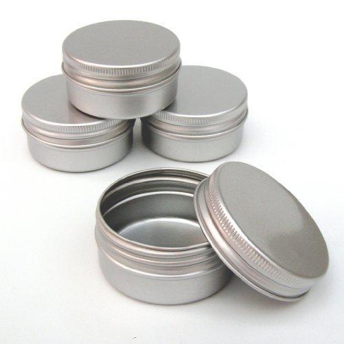 12 x 30 ml-Aluminium-Make up - 30 ml-Pots cosmétiques vides Petite bougie/Pots àépices/produit boîtes Pots