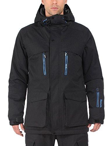 Bench Funktionsjacke Pushoff Chaqueta de esquí para hombre, color negro azabache, talla L