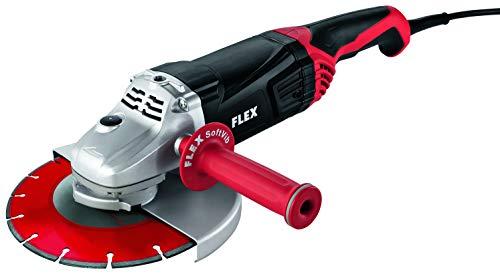 Flex 391514 L 230/CEE Winkelschleifer L 21-6 230 (230 mm, 2100 Watt, Leerlaufdrehzahl 6500 /min, Werkzeugaufnahme M 14, Spannhals-Ø 64 mm), mehrfarbig
