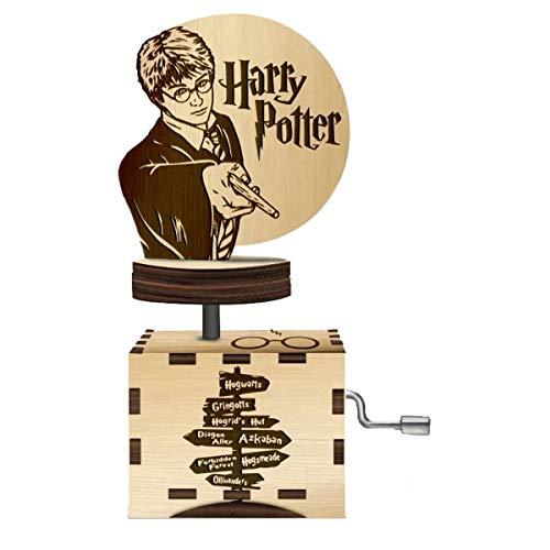 Caja Musica Harry Potter  marca FRANK EYEWEAR TU MIRADA SIEMPRE BIEN
