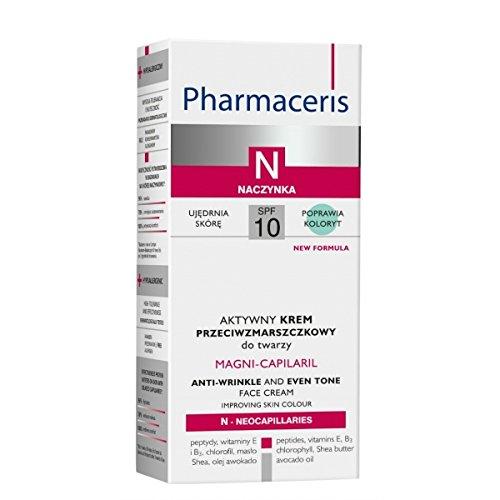 Pharmaceris N - MAGNI-CAPILARIL anti-arrugas and even tono crema facial for cuperosis piel (50 ml)