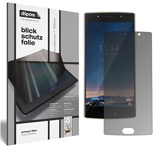dipos I Blickschutzfolie matt kompatibel mit Doogee BL7000 Sichtschutz-Folie Bildschirm-Schutzfolie Privacy-Filter
