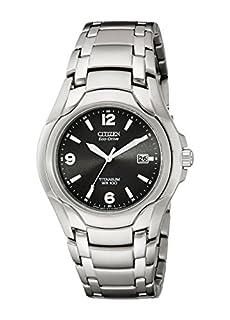 Citizen Men's Eco-Drive Titanium Watch with Date, BM6060-57F (B000GDC5KO) | Amazon price tracker / tracking, Amazon price history charts, Amazon price watches, Amazon price drop alerts