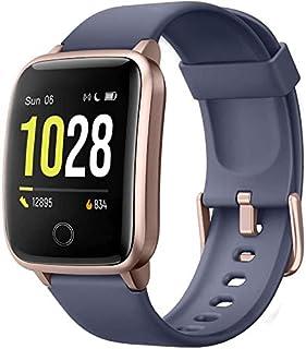 Pulsera de Actividad,Reloj Inteligente para Hombre y Mujer, IP68 Impermeable Reloj Deportivo con Rtmo Cardíaco, Sueño Monitor, Contador y Calorías para Android y iOS (Todo Azul)