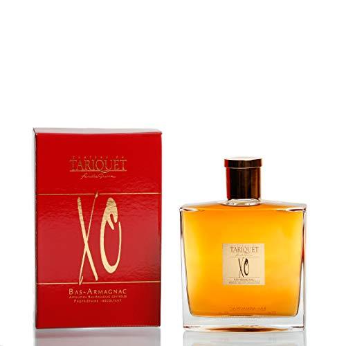 Carafe 'Chance' XO 40,0% Châtau du Tariquet Bas-Armagnac AOC - Domaine Tariquet - Armagnac (weich) aus Frankreich/Gascogne, Paket mit:1 Flasche