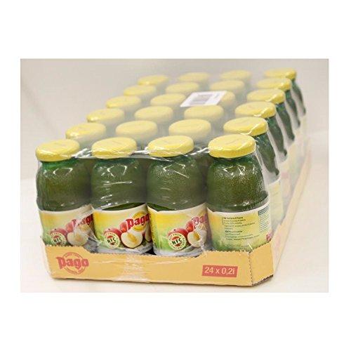 Pago Fruchtsaft - Pfirsich 24x0,2l