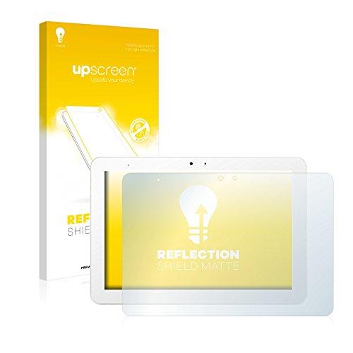upscreen Entspiegelungs-Schutzfolie kompatibel mit BQ Aquaris Edison 3 – Anti-Reflex Bildschirmschutz-Folie Matt