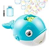 Babyhelen Bubble Ballena - Máquina Automática para Hacer Burbujas, para Bañeras, Fiestas de Cumpleaños, Juegos de Interior y Exterior