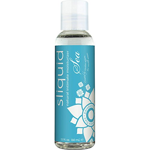 Sliquid Lubricants Sea Premium Personal Lubricant with Seaweed, 2 Fluid Ounce