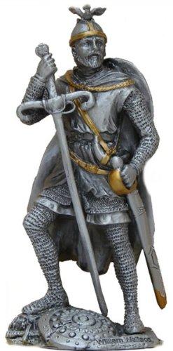 Peltro William Wallace Cavaliere Figurine