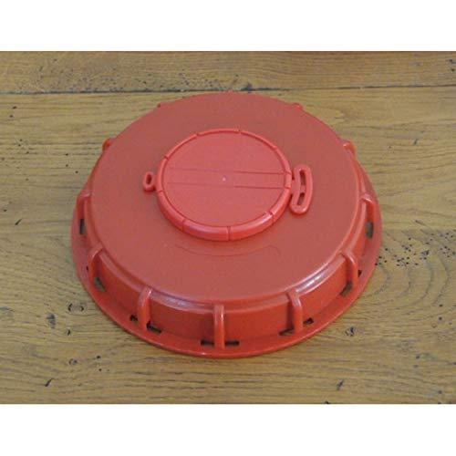 Couvercle 15cm pour cuve 1000L avec ouverture centrale