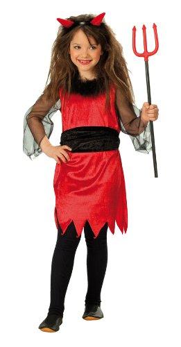 Rubie's 1 2422 128 - Kleine Teufelin Kostüm, Gröߟe 128