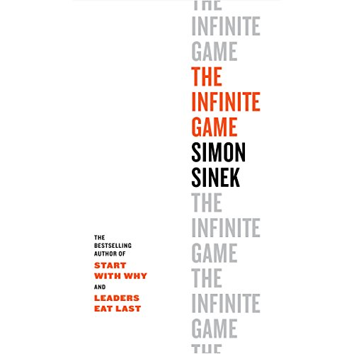 The Infinite Game audiobook cover art