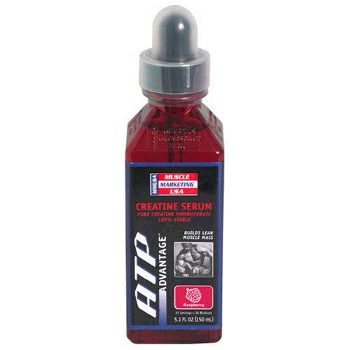 Muscle Marketing USA ATP Advantage Creatine Serum, Raspberry, 5.1-Ounce Bottle