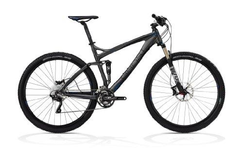 Ghost MTB AMR 2976 - Bicicleta de montaña (56 cm), color gris, negro y azul