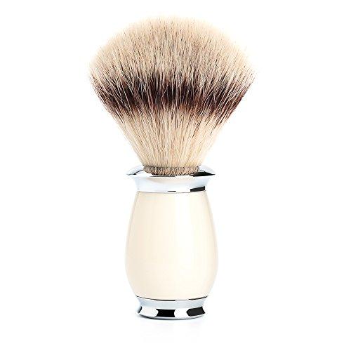 MÜHLE - Rasierpinsel - PURIST Serie - Silvertip Fibre - Edelharz elfenbein