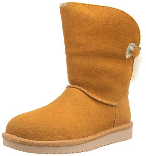 Koolaburra by UGG Women's Remley Short Classic Boot, Chestnut, 39 EU