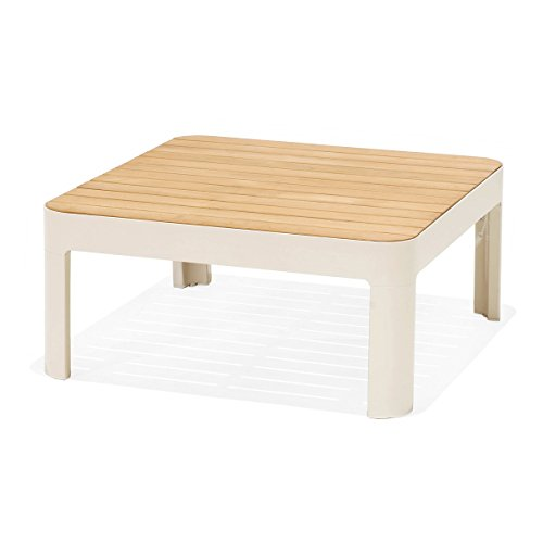CADA Design by designbotschaft designbotschaft: Gartenloungetisch Salina - Teak - Loungetisch 1 Stck