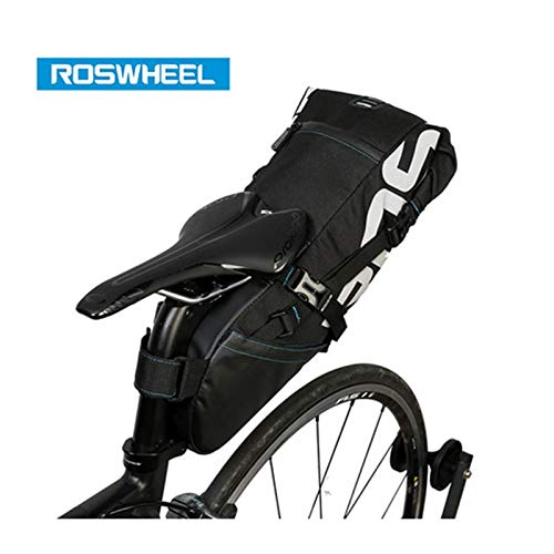 Roswheel Tail Bag 8L Pannier Cycling MTB Mountain Bag Back Seat Rear Saddle Bag