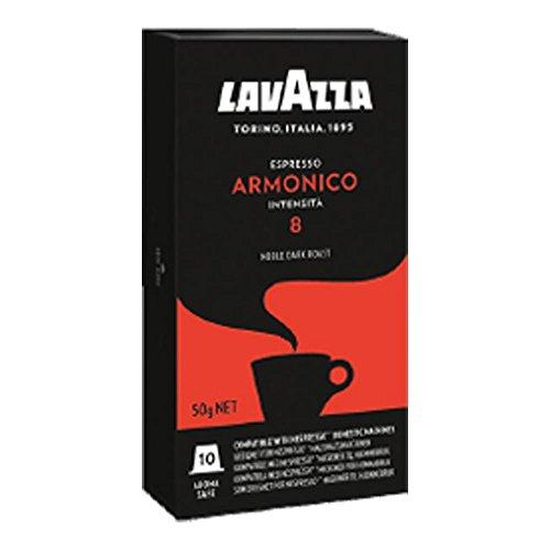 Lavazza Armonico Espresso, Kaffeekapseln, Kompatibel mit Nespresso Kapselmaschinen, 10 Kaffee Kapsel
