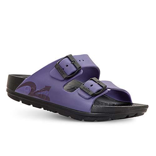 Gravity Defyer Women's Purple UpBov Sandal 6 M US - VersoCloud Multi-Density Shock Absorbing Ortho-Therapeutic Sandals