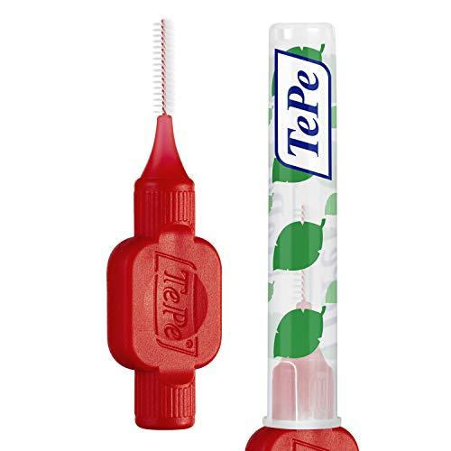 TEPE Interdentalbürste Rot (ISO-Größe 2: 0,5 mm), 26 Stück