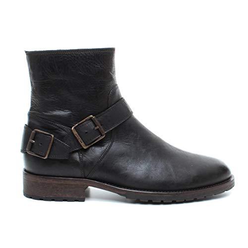 Belstaff heren laarzen 77800191 Trialmaster Zwart Leer