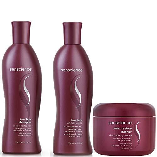 Kit Shampoo E Condicionador 300Ml True Hue E Máscara Inner Restore Intensif Senscience 150Ml