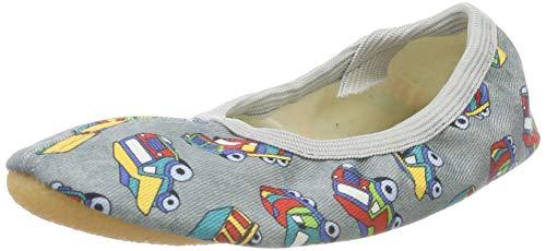 Beck Lkw, Zapatillas de Gimnasia para Niños, Gris (Grau 24), 24 EU