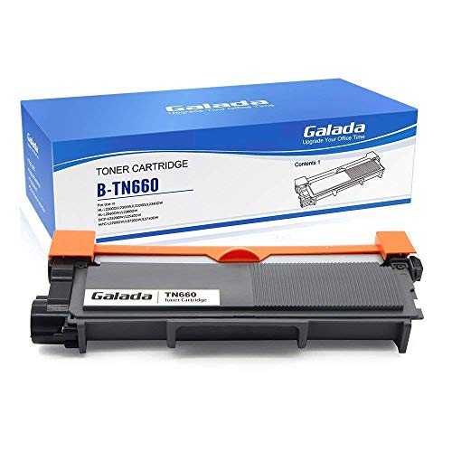 Galada Compatible Toner Cartridge Replacement for Brother Tn630 Tn660 High Yield for Hl-l2300d Hl-l2340dw Hl-l2305dw Hl-l2320d Hl-l2360dw Hl-l2380dw Dcp-l2520dw Dcp-l2540dw Mfc-l2700dw Mfc-l2720dw 1p