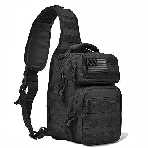 Tactical Sling Bag Pack Military Sling Assault Range Diaper Bag Backpack