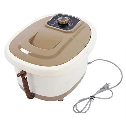 US Plug 110V Portable Foot Spa Bath Massager Bubble Heat Soaker Vibration Pedicure Soak Tub,Czech Republic