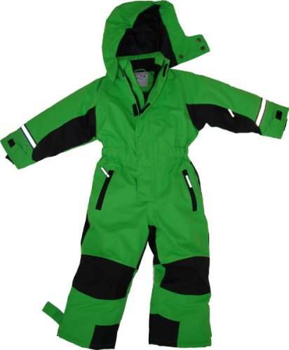 Maylynn Outdoor - Tuta da Sci Intera in Softshell - Verde - 110-116 cm
